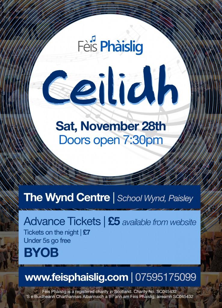 Fèis Ceilidh – November 28th